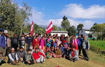 नेपाली काग्रेस पञ्चपुरी ६ को टोल नं १ को भेला सम्पन्न ।