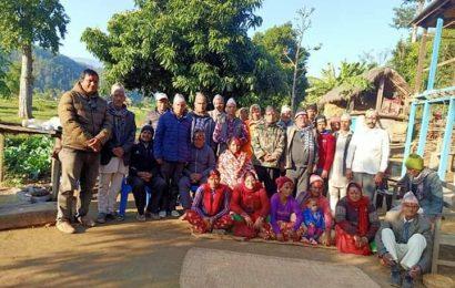 नेपाली काग्रेस पञ्चपुरी ९ को रागमा टोल भेला सम्पन्न ।